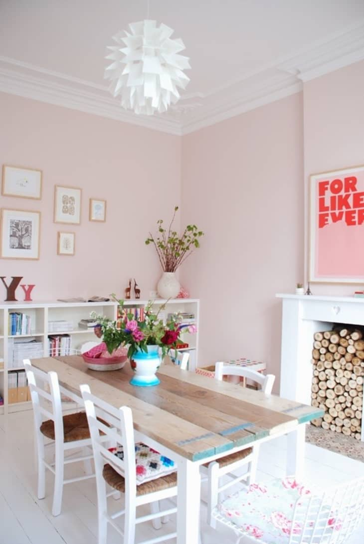 At First Blush Pale Pink Decorating Ideas Apartment Therapy