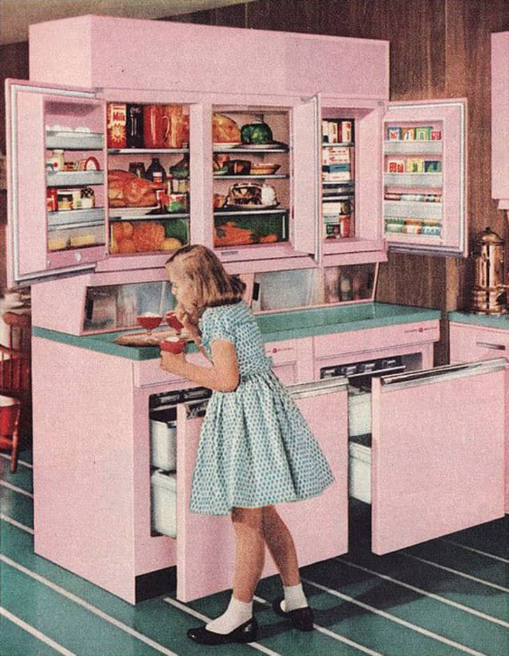 Brief History Of The Kitchen From The 1950s To 1960s Apartment Therapy
