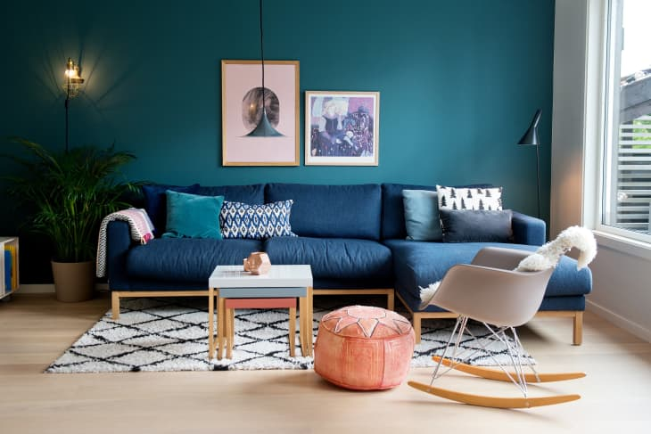 How To Decorate With Peacock Blue Apartment Therapy