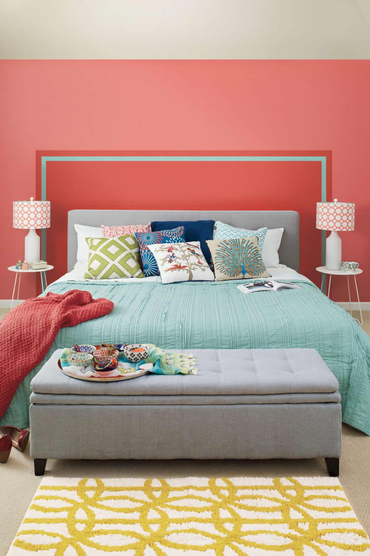 Simple Solutions Painted Headboard Apartment Therapy
