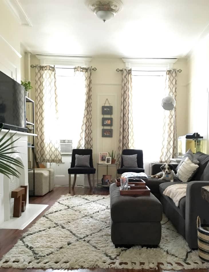 A Comfy & Cozy Railroad Apartment | Apartment Therapy