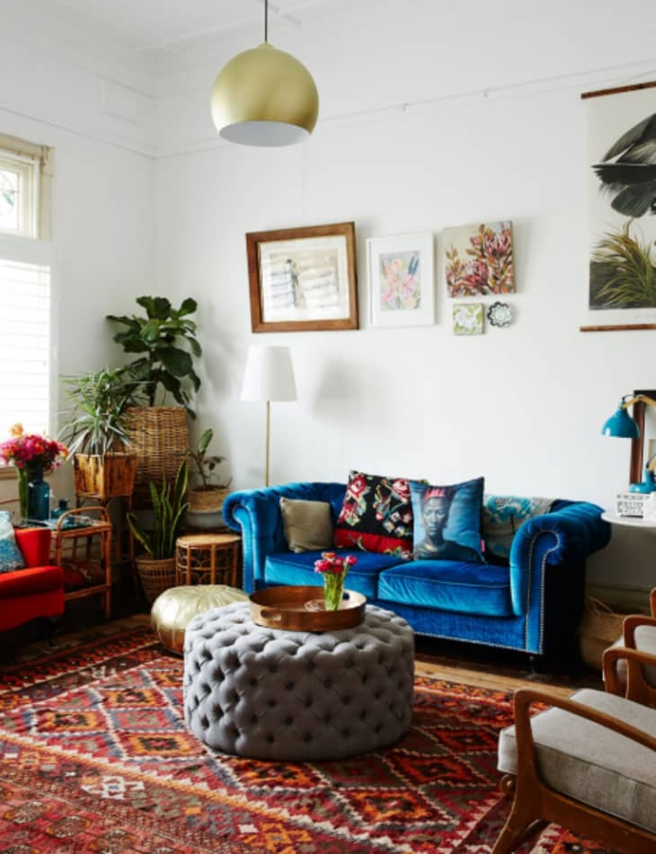 Red And Blue Room Design Ideas - Red And Blue Decor | Apartment Therapy