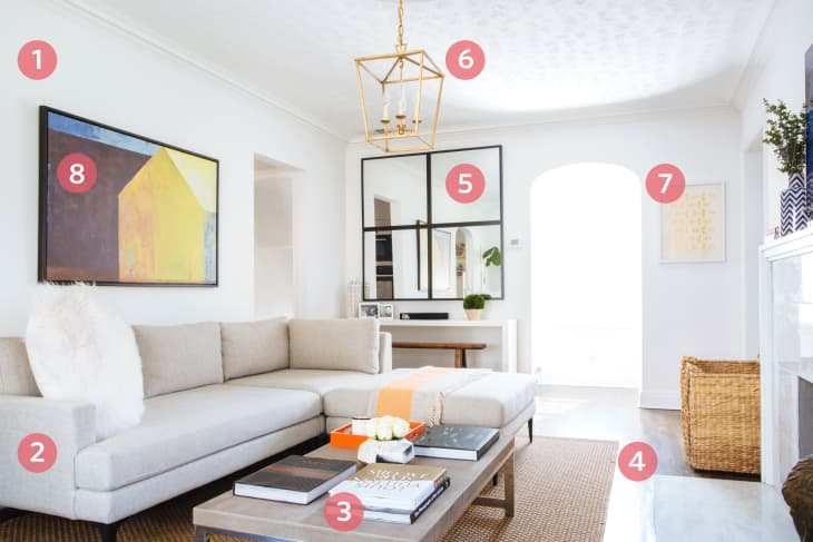 How To Get A High End Living Room Look On A Budget Apartment Therapy