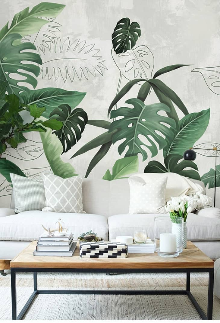 Stylish Wall Murals Wall Mural Design Ideas Apartment Therapy
