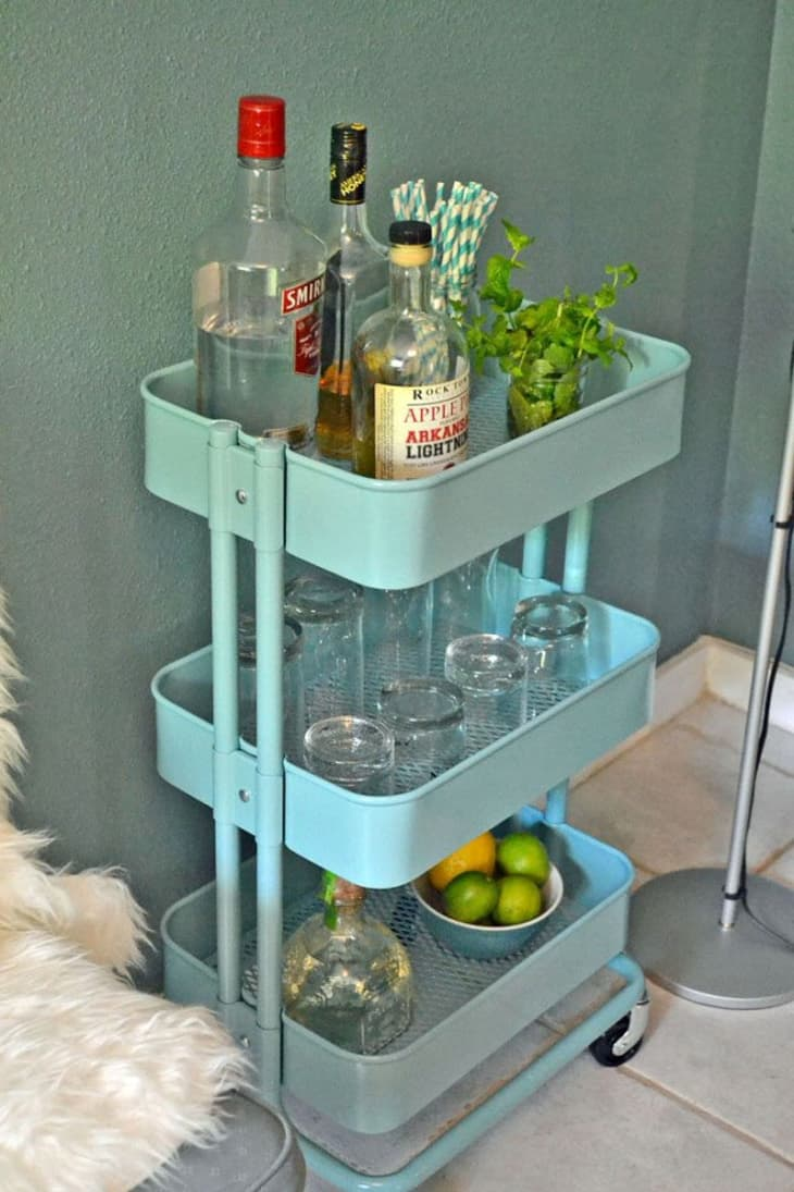 How To Use The Ikea Raskog Cart In Every Room Of The House Apartment Therapy