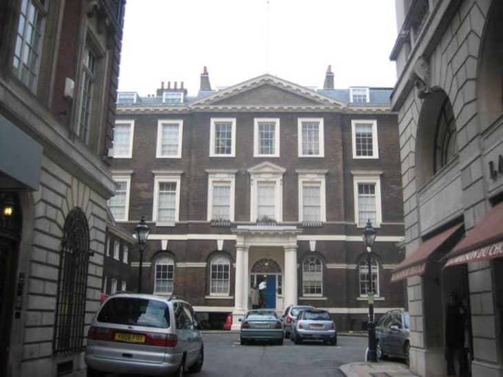 William Hanham's Last Albany Apartment at Piccadilly ...