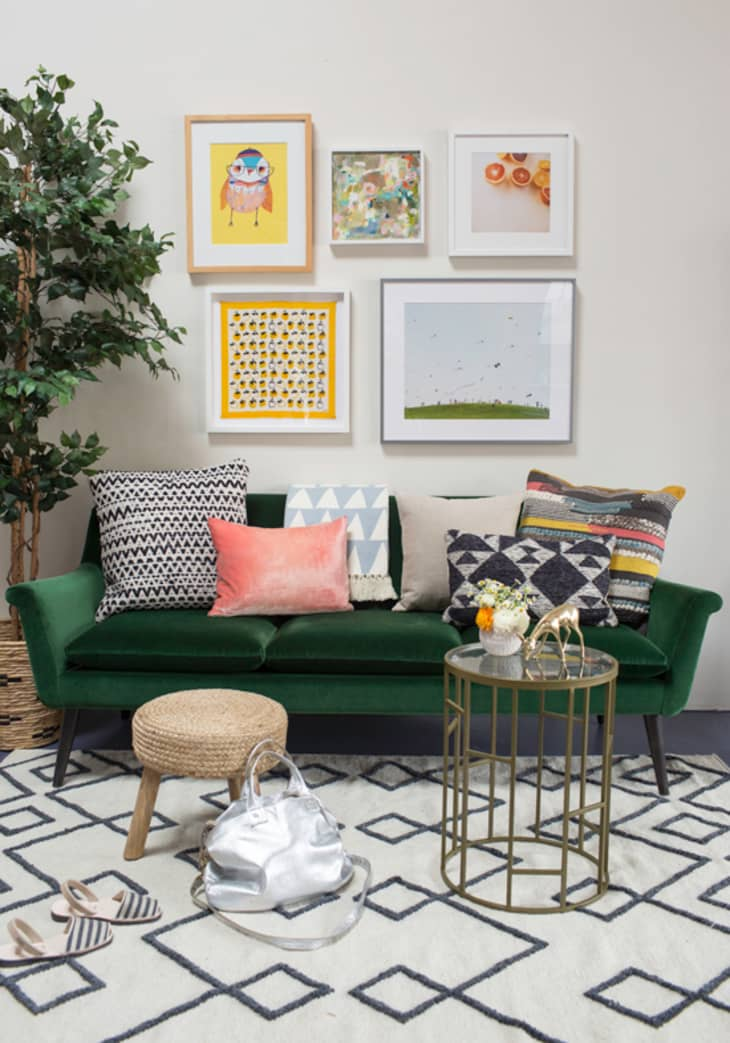 Picture of: The Couch Trend For 2017 Stylish Emerald Green Sofas Apartment Therapy