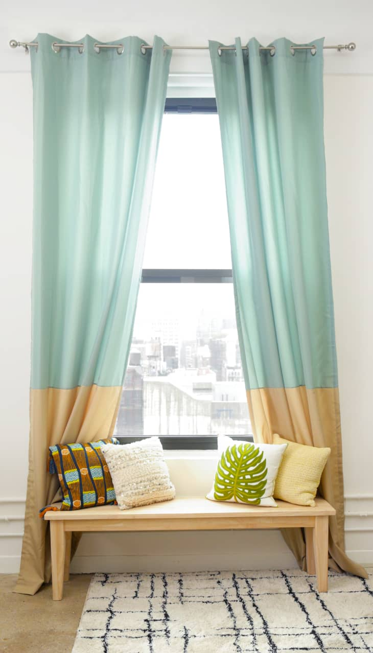 How To Hang Curtains Do S And Don Ts Apartment Therapy,How To Install Smoke Detector In Drop Ceiling