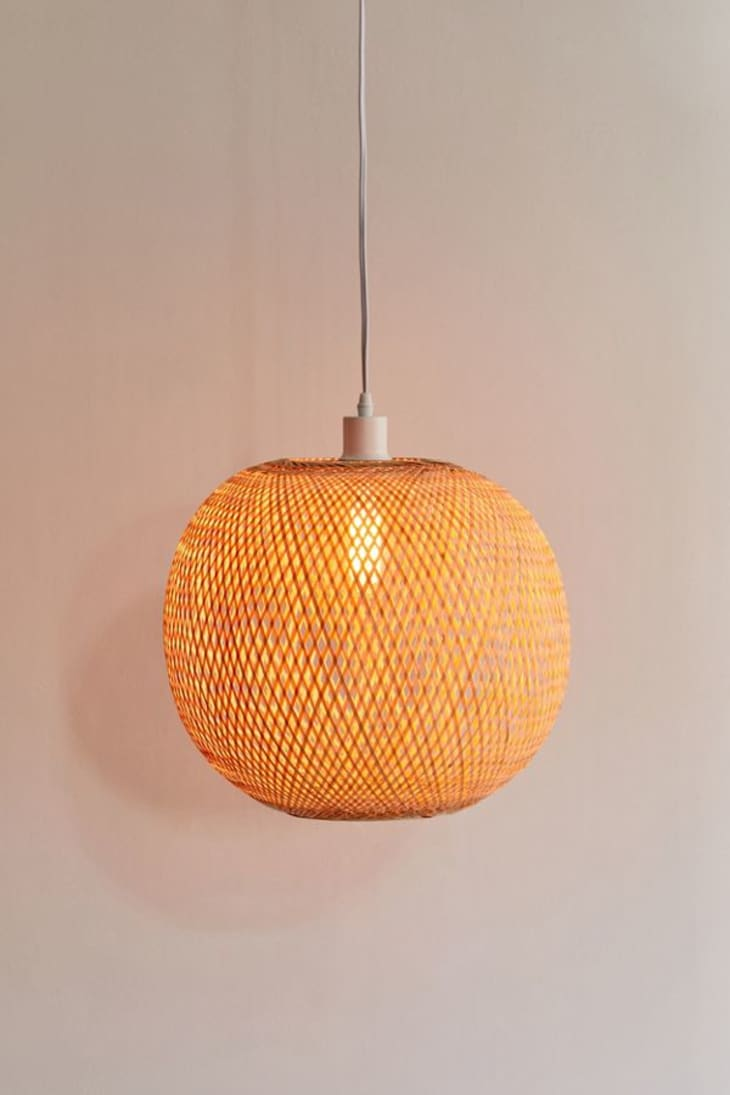 Currently Obsessed Rattan Wicker Pendant Lights Apartment Therapy