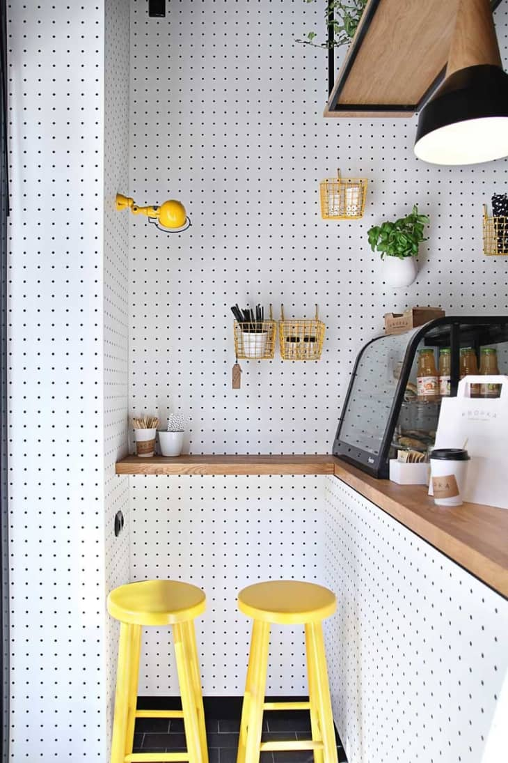 How To Install A Pegboard Wall Add Storage And Style Apartment Therapy