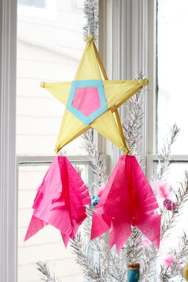 Diy Filipino Christmas Star Parol Decoration Apartment Therapy