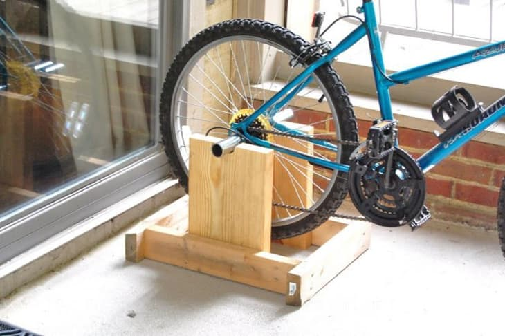 Diy Ideas 9 Bike Stands You Can Make Yourself Apartment Therapy