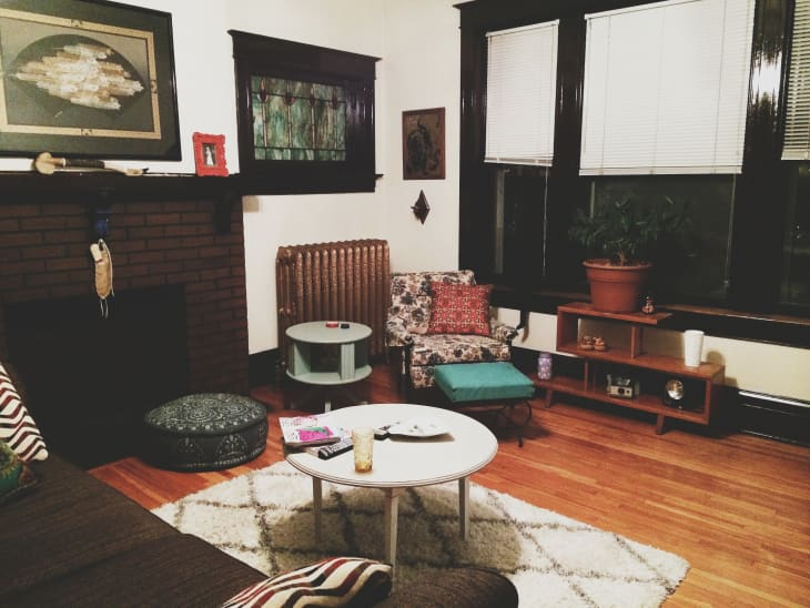Natalie's Cozy, Contrasting Home Full of Character ...