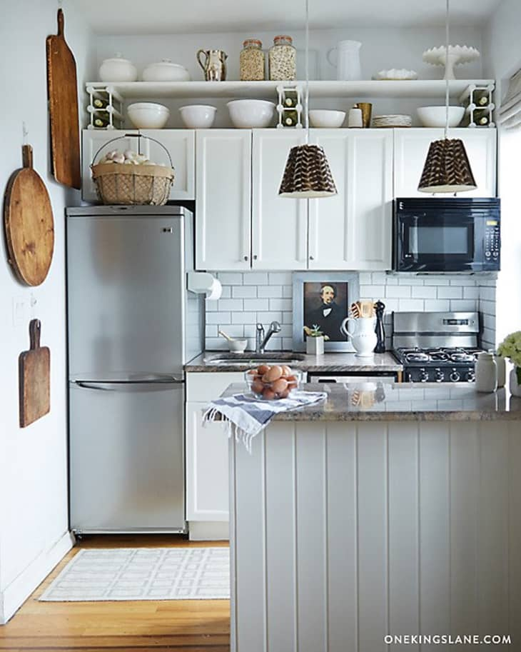 Storage Ideas Above Kitchen Cabinets 11 Smart Ways to Use the Space Above Your Cabinets | Kitchn