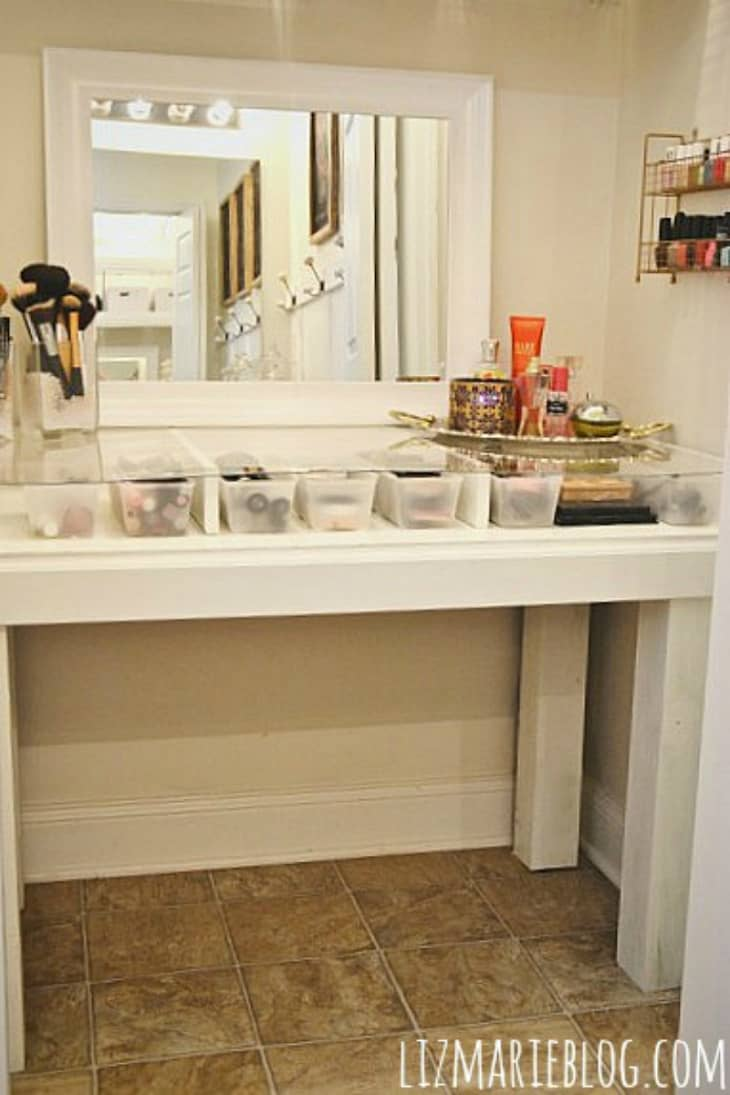 Make Over Your Makeup Area 10 Vanity Organizing Solutions Apartment Therapy