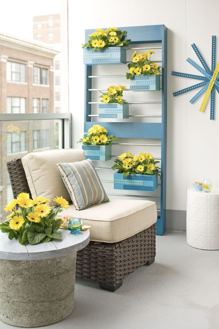 16 Fun Balcony Ideas - How to Decorate a Small Balcony  Apartment