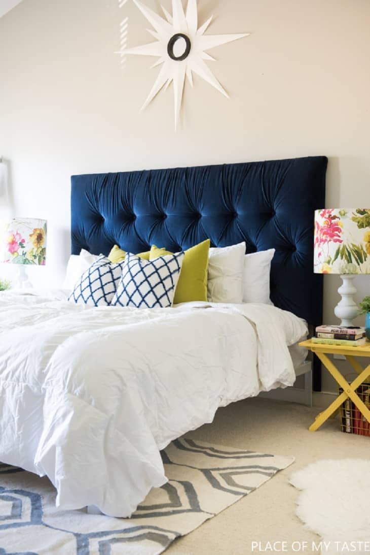 Diy Upholstered Headboards You Can Make Without Sewing Apartment Therapy