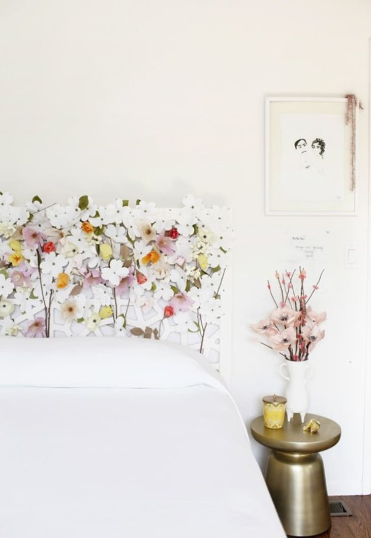 20 Easy Diy Homemade Headboard Ideas How To Make A Bed Headboard Apartment Therapy