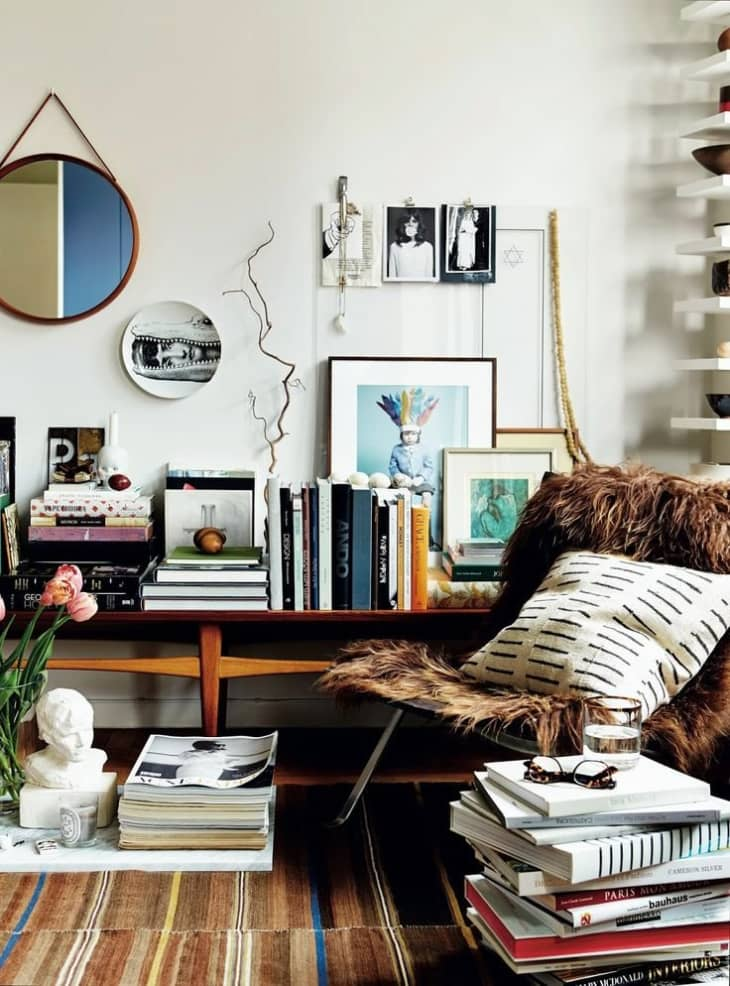 Eclectic Living Room Ideas Apartment Therapy