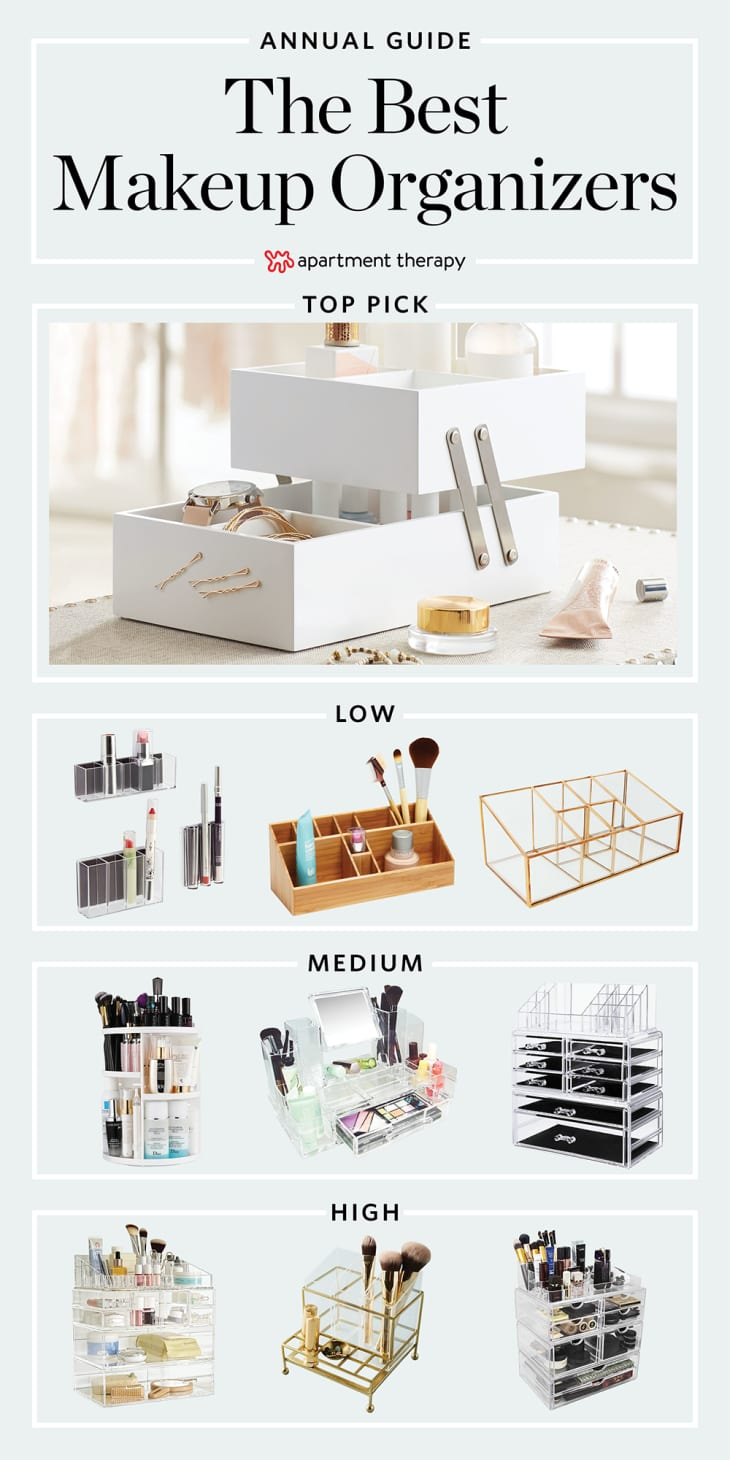 The Best Makeup Organizers Apartment Therapy