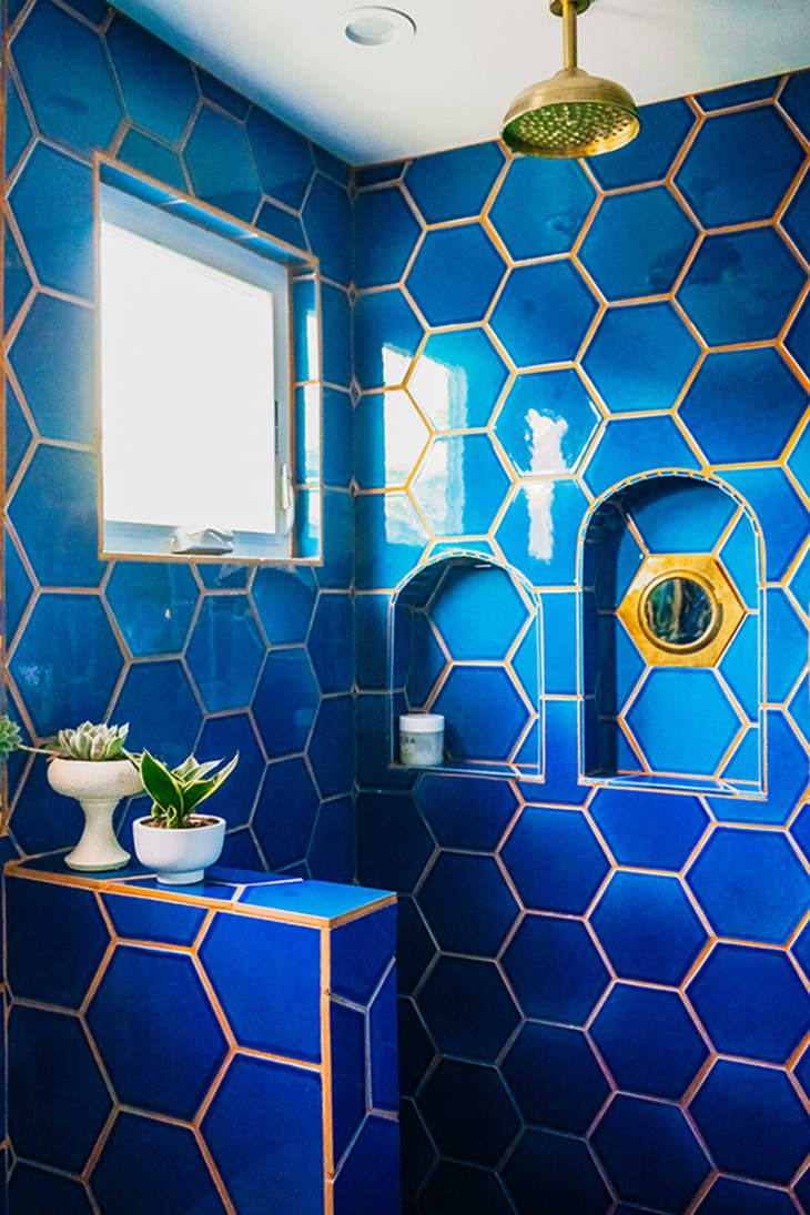 Unusual Tile Colored Grout Combos That Are Gorgeous Apartment Therapy
