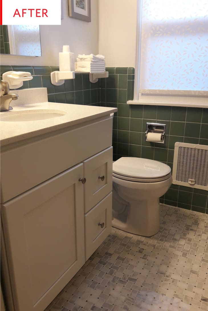 Small Bathroom Modern Remodel - Before and After ...