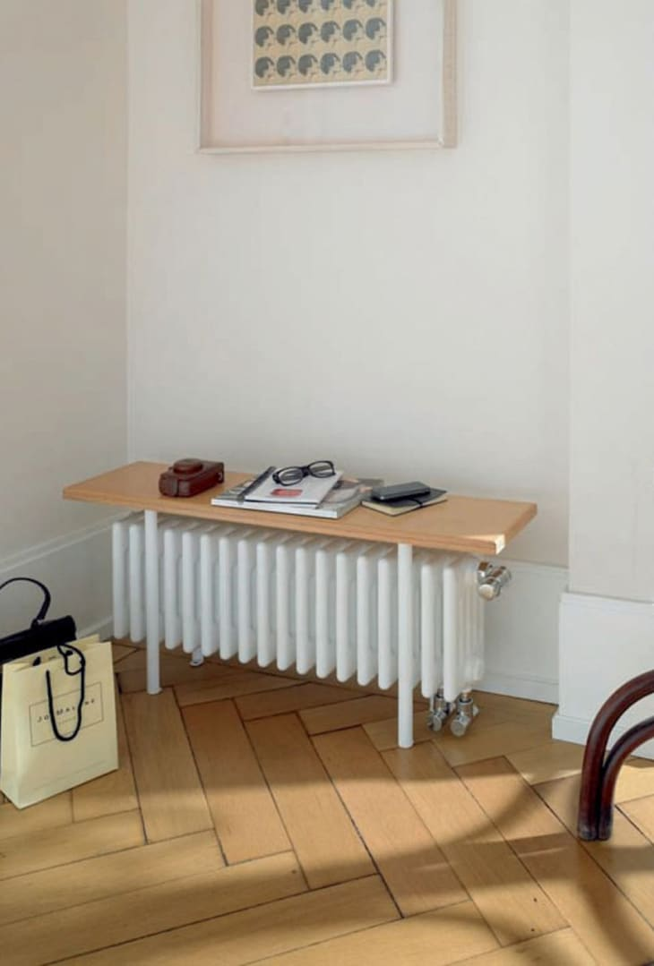 Wall Heater Covers That Camouflage Ugly Radiators Apartment Therapy