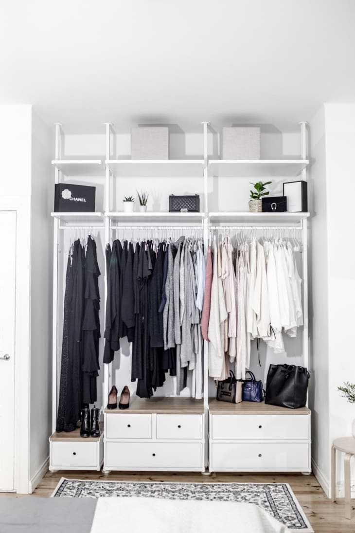 Ikea Closets To Create A Custom Closet Look Apartment Therapy