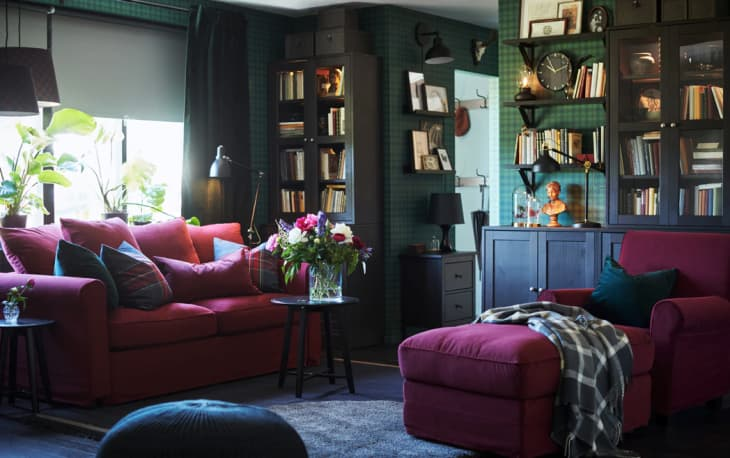 Colorful Living Room Design Ideas To Steal From Ikea Apartment Therapy