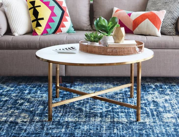 Ideas For How To Style A Round Coffee Table Apartment Therapy