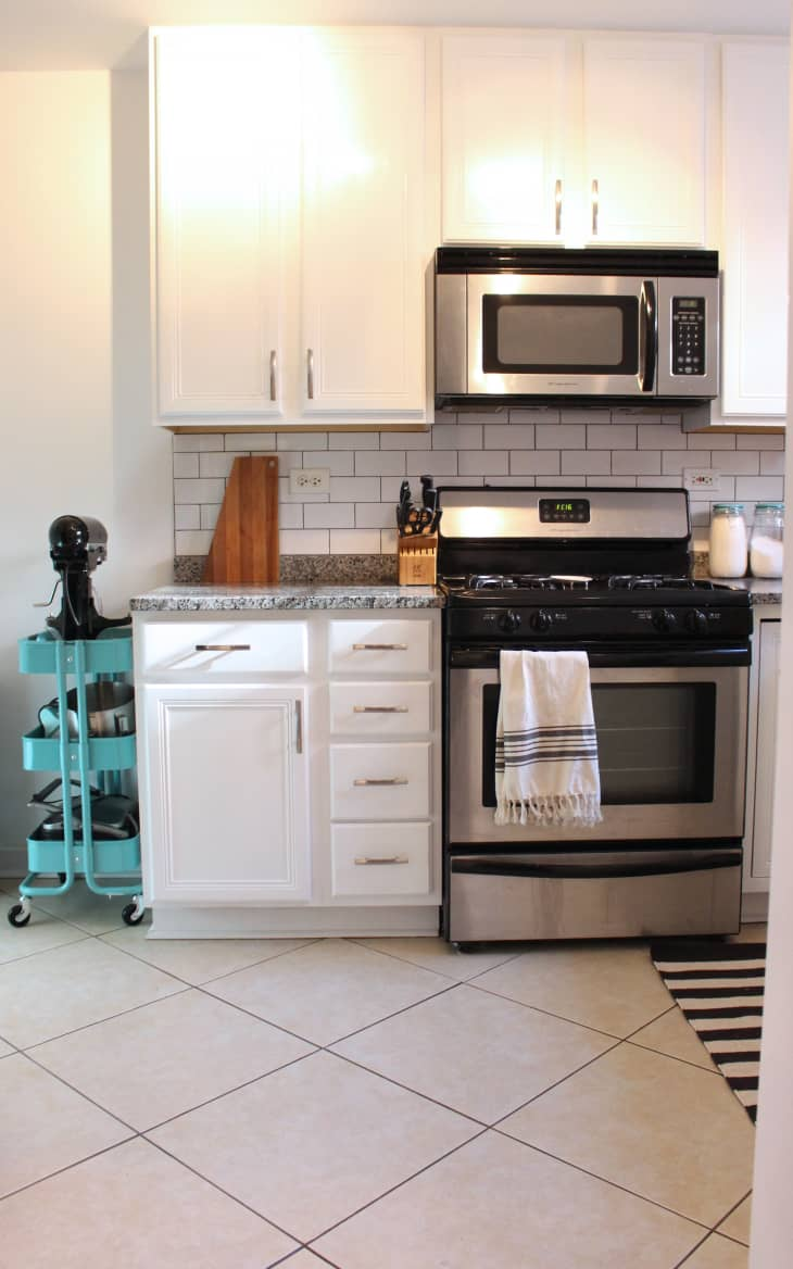 The Affordable Speedy Small Condo Kitchen Update Apartment Therapy