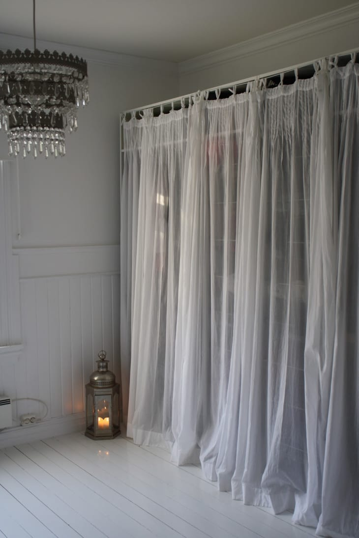 Project Ideas For Hiding Clutter With Curtains Shades Apartment Therapy