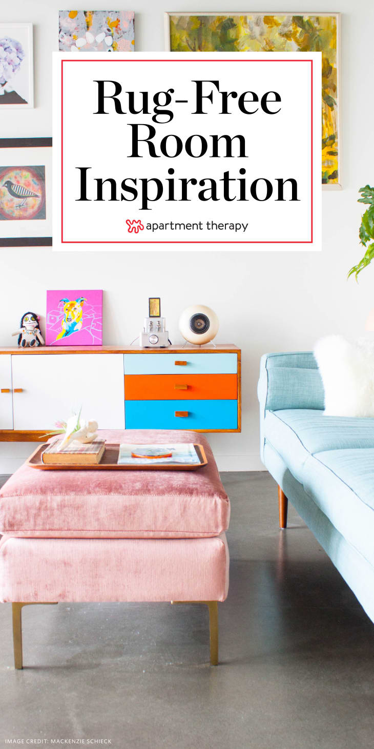 Rug-Free Room Inspiration | Apartment Therapy