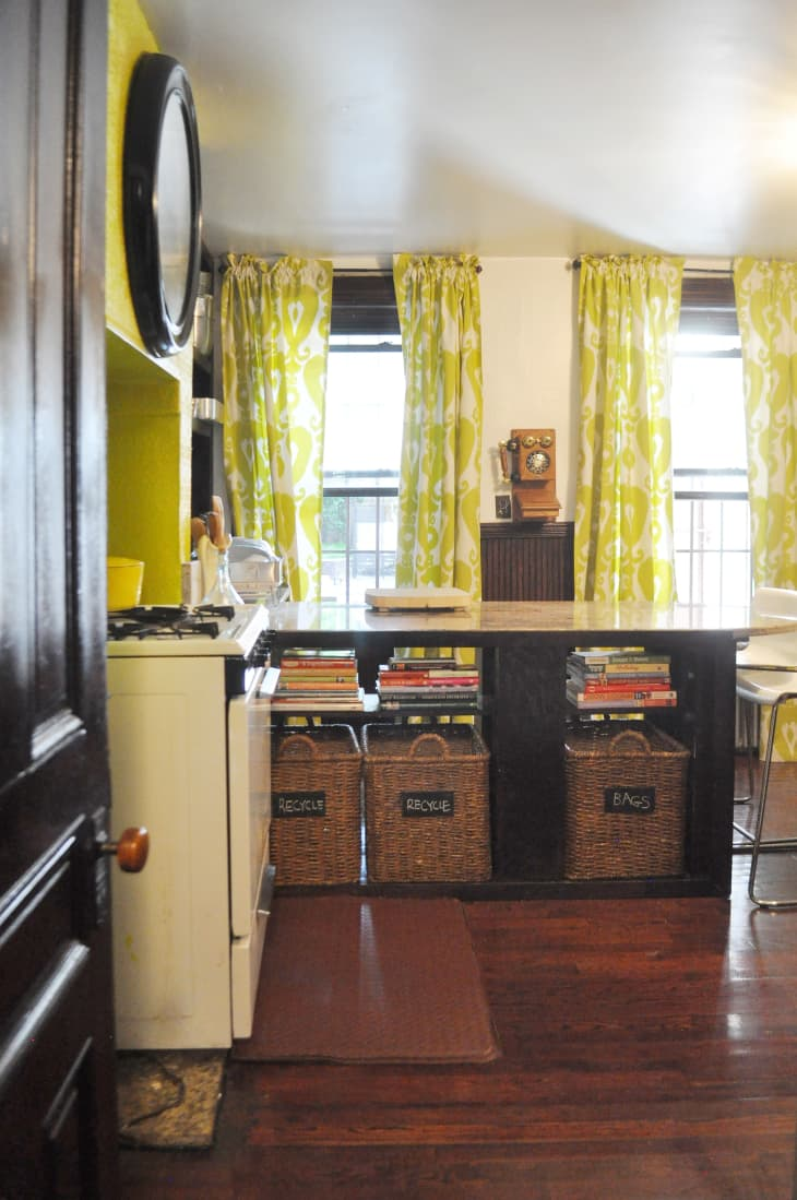 Clever Diy Ideas To Organize Your Recycling Apartment Therapy
