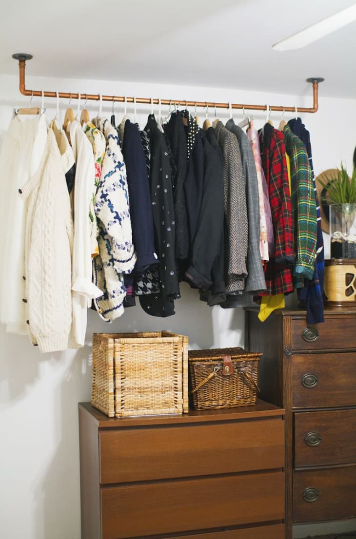 How to Create a Closet in a Small Space  Apartment Therapy