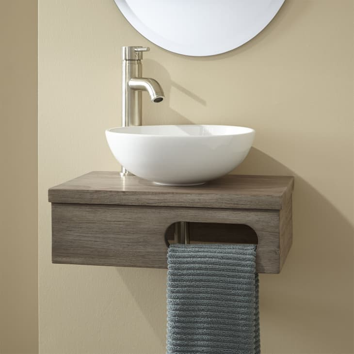Small Bathroom Vanities And Sinks For Tiny Spaces Apartment Therapy