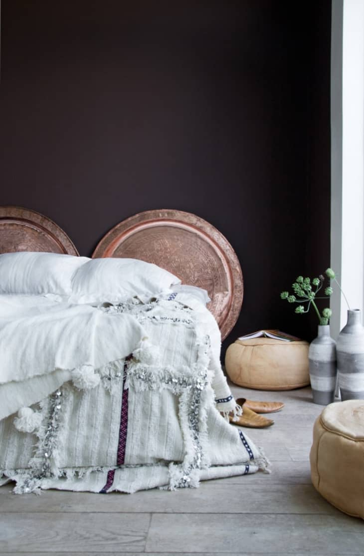 Bed Without A Headboard 7 Headboard Alternatives To Use Instead Apartment Therapy
