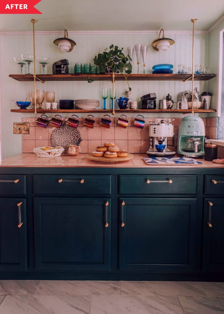 Dated Kitchen Redo - DIY Kitchen Makeover with Painted ...