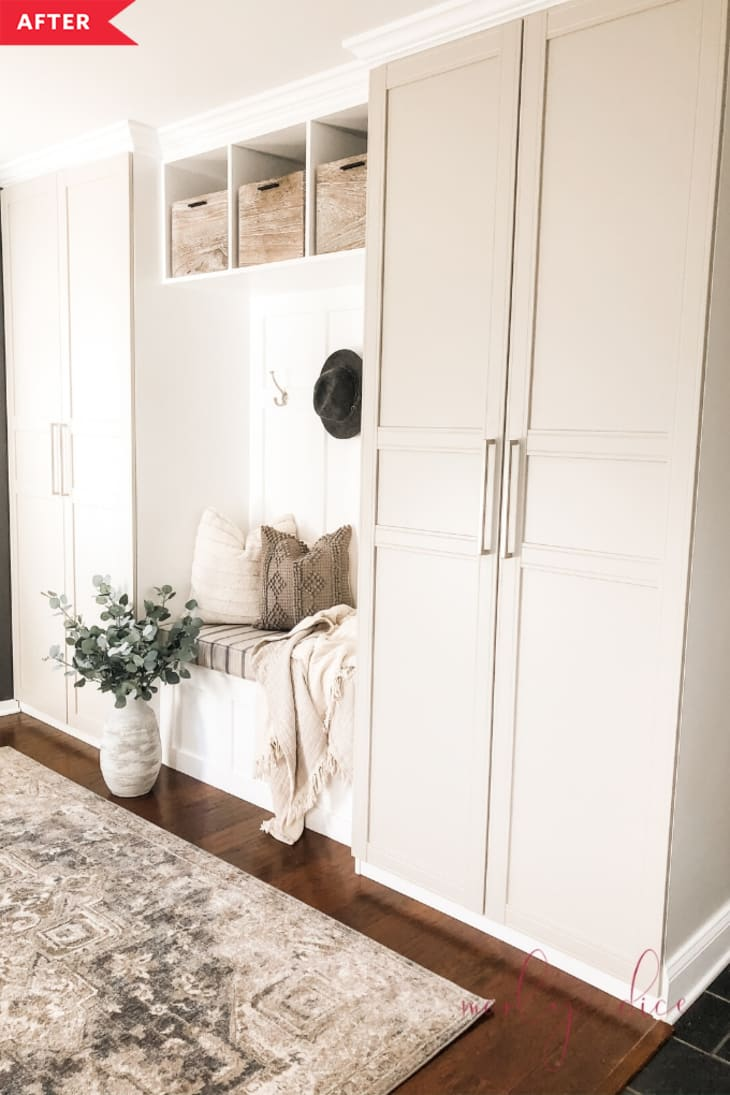 Ikea Hack For Organized Mudroom Apartment Therapy