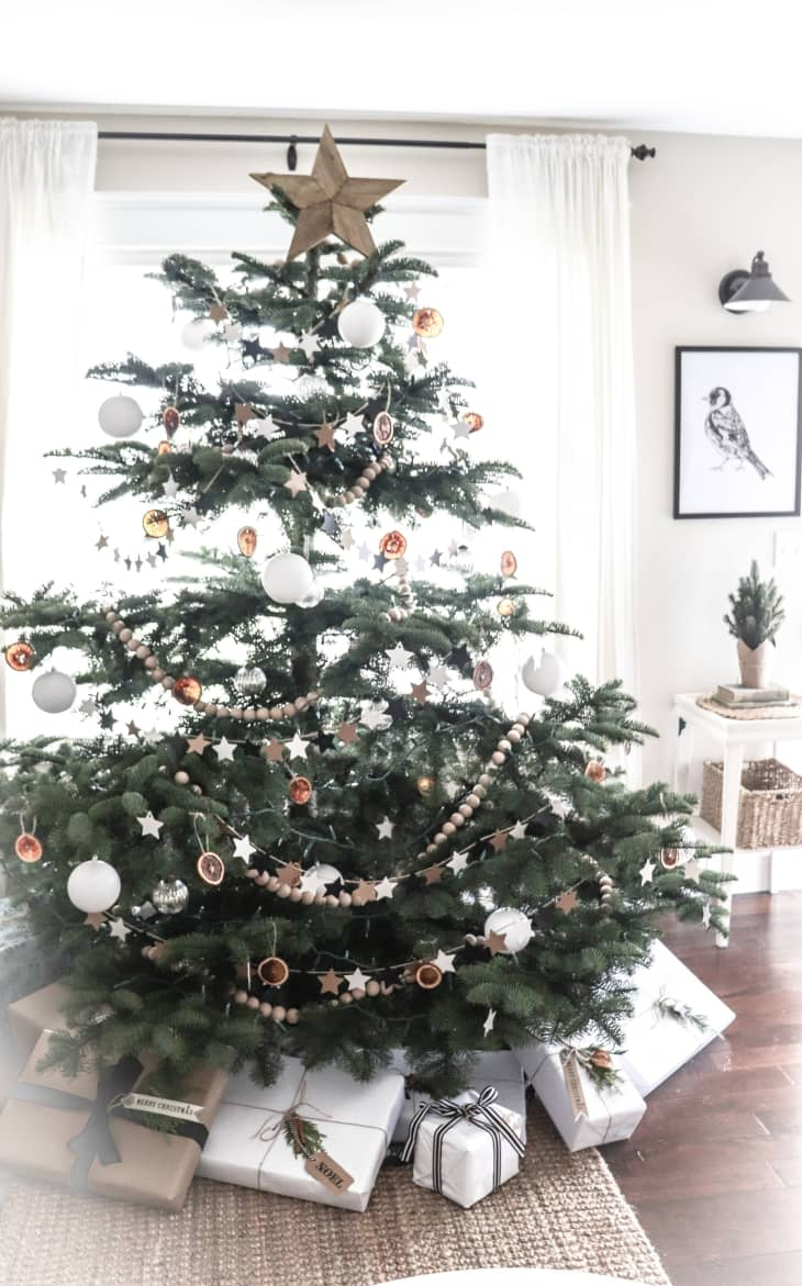 Diy Scandi Style Christmas Tree Apartment Therapy