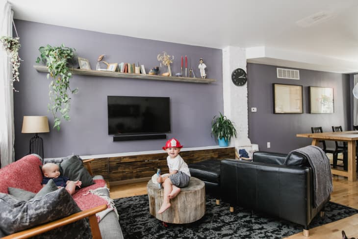 We Found The Best Purple Paint Color For Interiors Apartment Therapy,1960s Ranch House Exterior Remodel