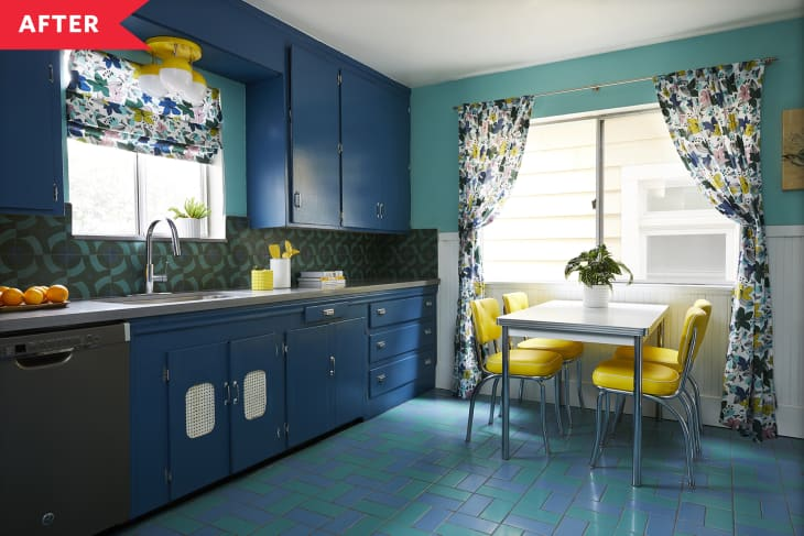 19 Cool Retro Kitchens Fun Kitchens With Vintage Style Apartment Therapy