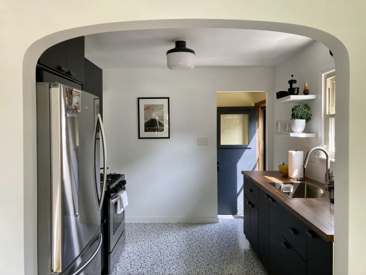 厨房与拱形入口