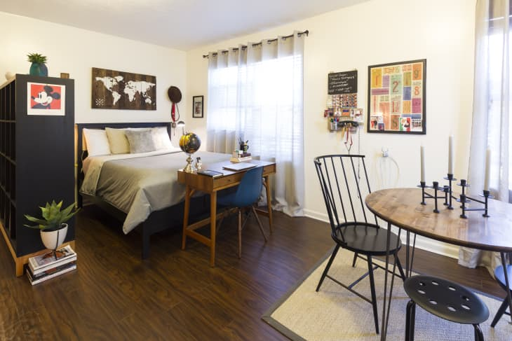 14 Ways To Divide A Room Creative Small Room Dividing Ideas Apartment Therapy