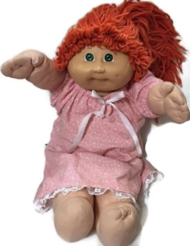red cabbage patch kids