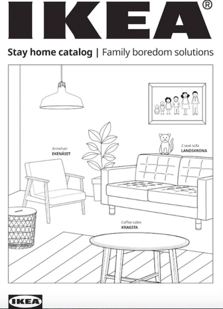 This Ikea Activity And Coloring Book Is Free And Printable Apartment Therapy