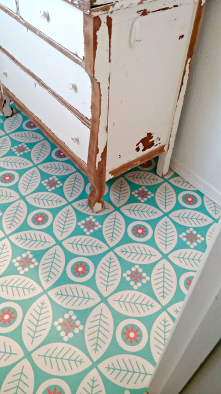 Cheap Chic Rooms That Made Us Love Vinyl Flooring Apartment Therapy