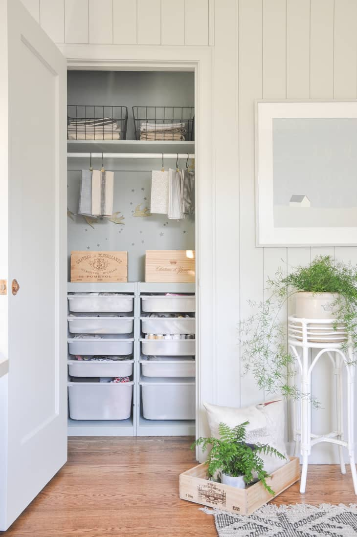 5 Ikea Hacks For Small Closets Apartment Therapy