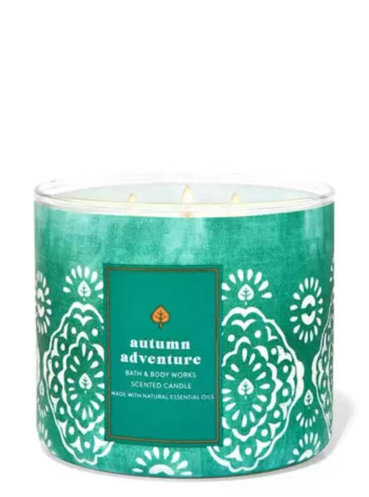 产品形象:秋季冒险蜡烛