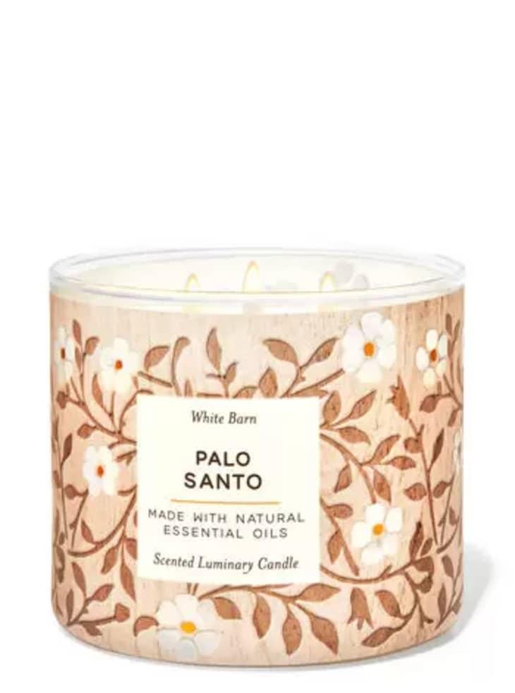 产品图片:白色巴恩帕洛桑托蜡烛
